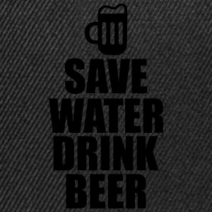 Save water drink beer - Snapback Cap