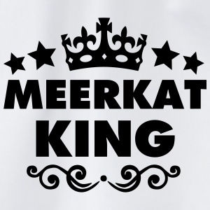 meerkat king 2015 - Drawstring Bag