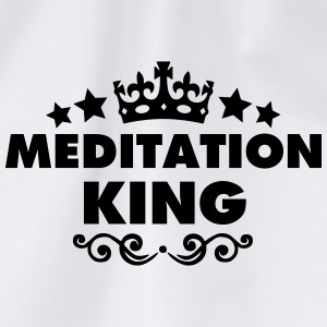 meditation king 2015 - Drawstring Bag