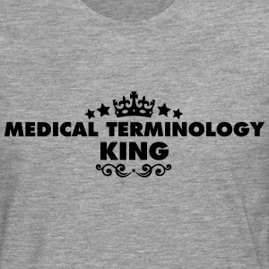 medical terminology king 2015 - Men's Premium Longsleeve Shirt