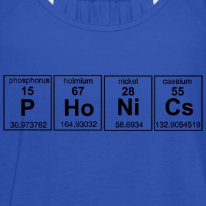 Phonics Periodic Table Elements T-Shirts - Women's Tank Top by Bella