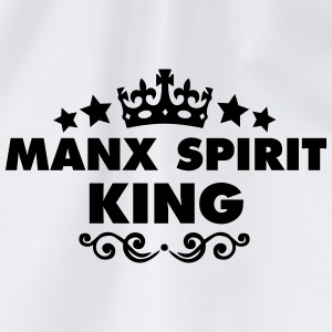manx spirit king 2015 - Drawstring Bag