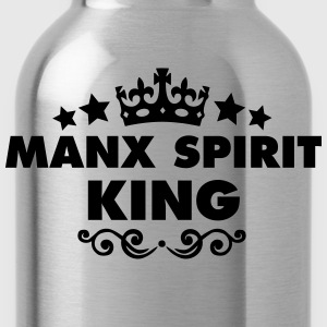 manx spirit king 2015 - Water Bottle