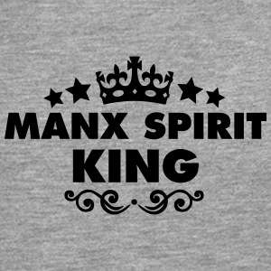 manx spirit king 2015 - Men's Premium Longsleeve Shirt