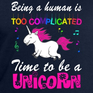 MAN BE IS COMPLICATED - I'M A UNICORN! T-Shirts - Men's Sweatshirt by Stanley & Stella