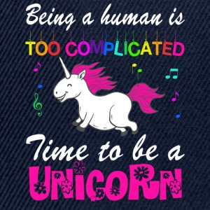 MAN BE IS COMPLICATED - I'M A UNICORN! T-Shirts - Snapback Cap