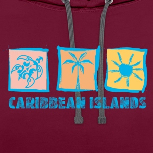 CARIBBEAN ISLANDS - Sweat-shirt contraste