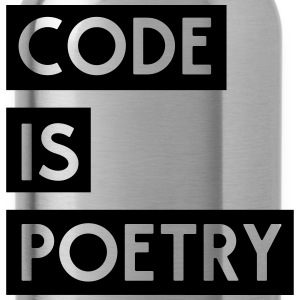 Code is Poetry T-Shirts - Water Bottle