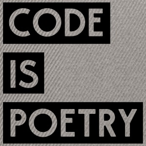 Code is Poetry T-Shirts - Snapback Cap