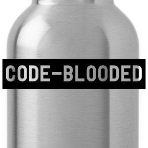 Code-Blooded T-Shirts - Water Bottle