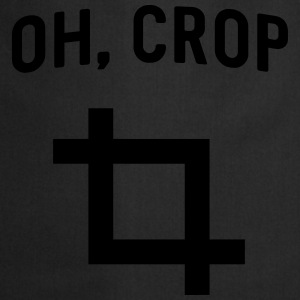Oh Crop T-Shirts - Cooking Apron