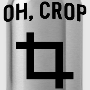 Oh Crop T-Shirts - Water Bottle