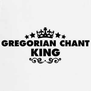 gregorian chant king 2015 - Cooking Apron