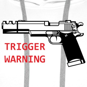 Anti-Snowflake Trigger Warning Collection - Men's Premium Hoodie