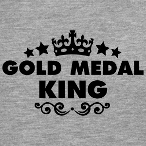 gold medal king 2015 - Men's Premium Longsleeve Shirt