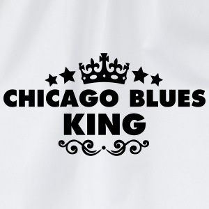 chicago blues king 2015 - Drawstring Bag