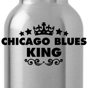 chicago blues king 2015 - Water Bottle