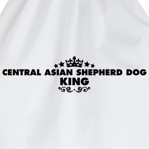 central asian shepherd dog king 2015 - Drawstring Bag