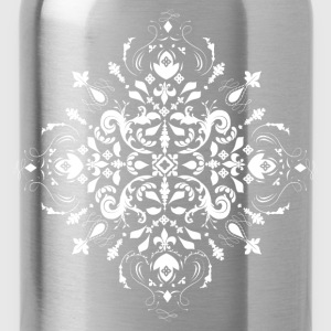 Arabesque Ornament White Hoodies & Sweatshirts - Water Bottle