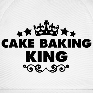 cake baking king 2015 - Baseball Cap