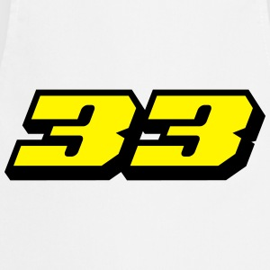 Number 33 T-Shirts - Cooking Apron