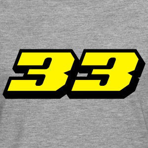 Number 33 T-Shirts - Men's Premium Longsleeve Shirt
