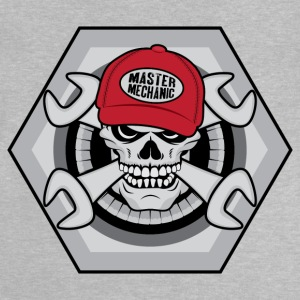Mechanic Skull Shirts - Baby T-Shirt