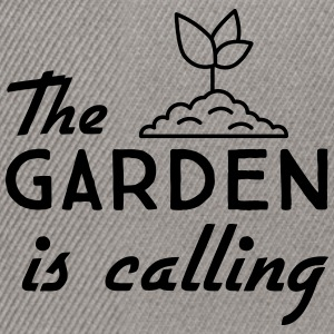 The Garden is Calling T-Shirts - Snapback Cap