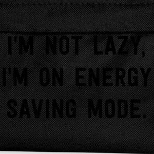 I'm not lazy, I'm on energy saving mode T-Shirts - Kids' Backpack