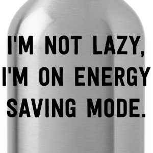 I'm not lazy, I'm on energy saving mode T-Shirts - Water Bottle
