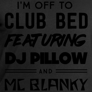 Off to club bed featuring DJ pillow & MC Blanky T-Shirts - Men's Sweatshirt by Stanley & Stella