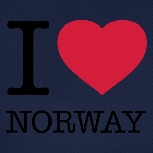 I LOVE NORWAY - Baseballcap