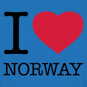 I LOVE NORWAY - T-shirt Homme