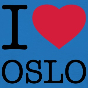 I LOVE OSLO - T-shirt Homme