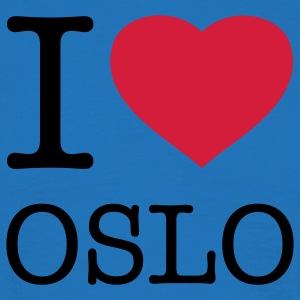 I LOVE OSLO - Men's T-Shirt