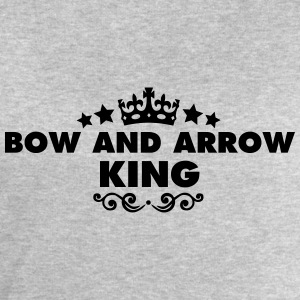 bow and arrow king 2015 - Men's Sweatshirt by Stanley & Stella