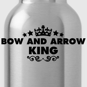 bow and arrow king 2015 - Water Bottle
