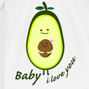 Baby ilove you  Aprons - Men's Premium T-Shirt
