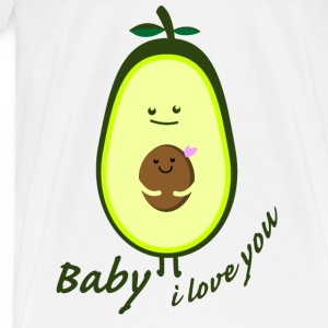Baby ilove you Tabliers - T-shirt Premium Homme