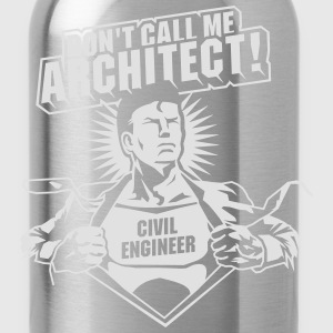 Civil Engineer - the original T-Shirts - Water Bottle