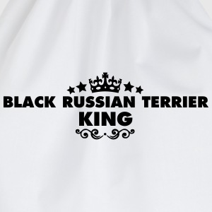 black russian terrier king 2015 - Drawstring Bag