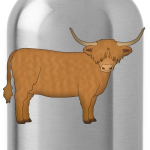 Highland cattle looking Shirts - Water Bottle