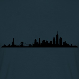 Skyline New York City - Männer T-Shirt
