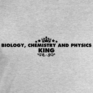 biology chemistry and physics king 2015 - Men's Sweatshirt by Stanley & Stella