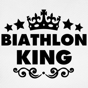 biathlon king 2015 - Baseball Cap
