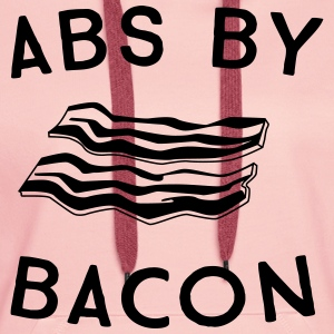 Abs by bacon T-Shirts - Women's Premium Hoodie