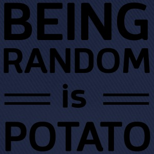 Being random is potato T-Shirts - Baseball Cap