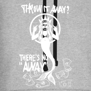 Mermaid / Meerjungfrau THERE'S NO 'AWAY'. T-Shirts - Unisex Baseball Hoodie