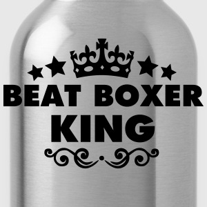 beat boxer king 2015 - Water Bottle