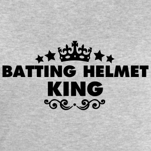 batting helmet king 2015 - Men's Sweatshirt by Stanley & Stella